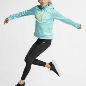 Nike Pro Girls' Tights Leggings Black NEW
